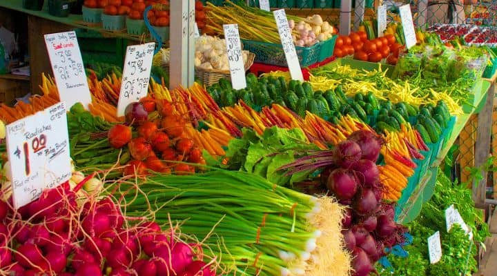 Farmers market Produce on the Paleo Diet - Saving money and finding cheap paleo meals can come down to what you choose as much as where you shop