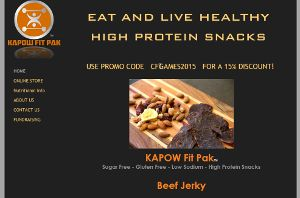 Kapow Fitpak Home Page