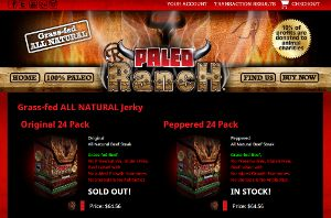 Paleo Ranch Home Page