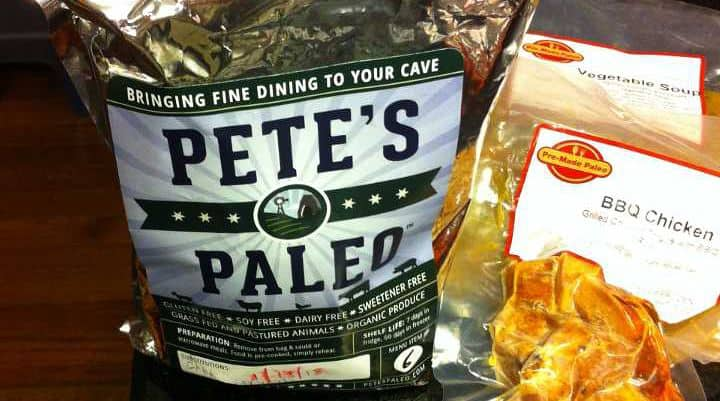 These pictures are examples of delivered packages of petes paleo and premade paleo that we received