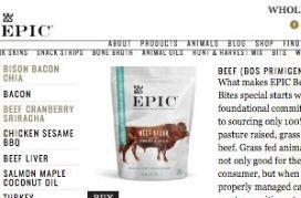 Paleo Epic Beef Jerky Bites
