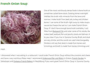 screenshot www.paleosonoma.com french onion soup