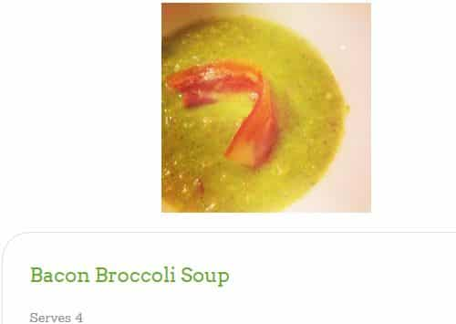 Bacon Broccoli Soup by Get Real Living - AIP, Bacon