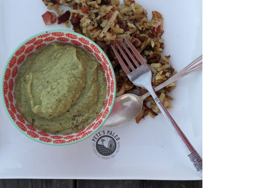 Stem O' Broccoli Soup from Pete's Paleo - Creamy, vegan option