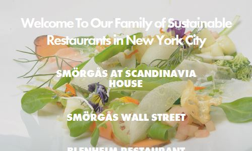 Screenshot of the Smorgas website - Smorgas is a Scandinavian restaurant in NYC. For example, many of the dishes are named after locations in Norway. As with many norwegian foods, the emphasis as Smorgas is on sustainable, local high quality farm to table ingredients that are simply prepared. So it is not that surprising that Smorgas was referenced frequently by paleo bloggers as one of the paleo restuarant nyc options to consider. Although not one hundred percent paleo, Smorgas is an easier place to carve out a paleo friendly meal for an NYC fine dining restaurant, and if you are on a hot date, it allows your dining companion to order what they want while you stick to your paleo food needs.