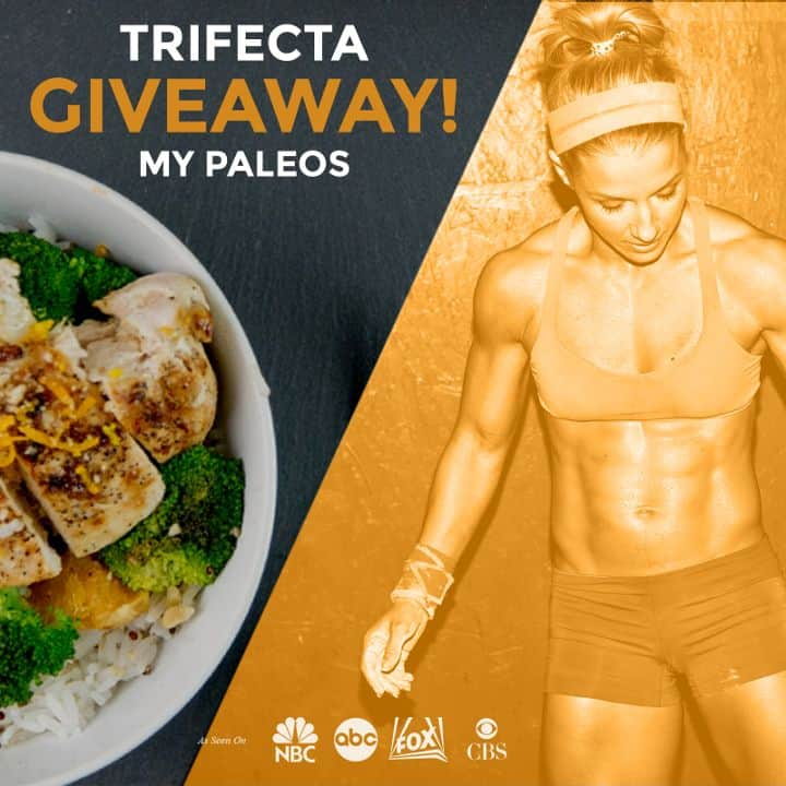Givewaway from Trifecta Nutrition 21 Paleo Meals for you and a Friend!