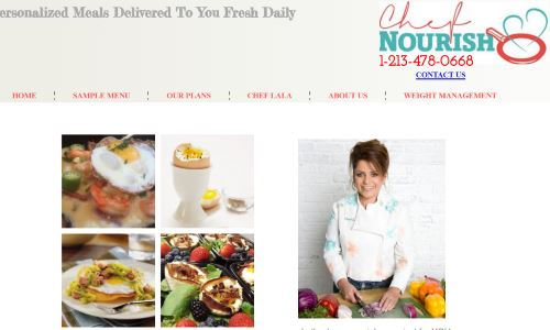 Chef Nourish offers personalized, chef created Paleo meals and other specialty diets. Her organic meal delivery Los Angeles plans are a great way to get started on Paleo, or to get customized specialty meals from a personal chef, without the hassle and expense of explaining Paleo requirements and figuring out pricing with personal chefs by request.