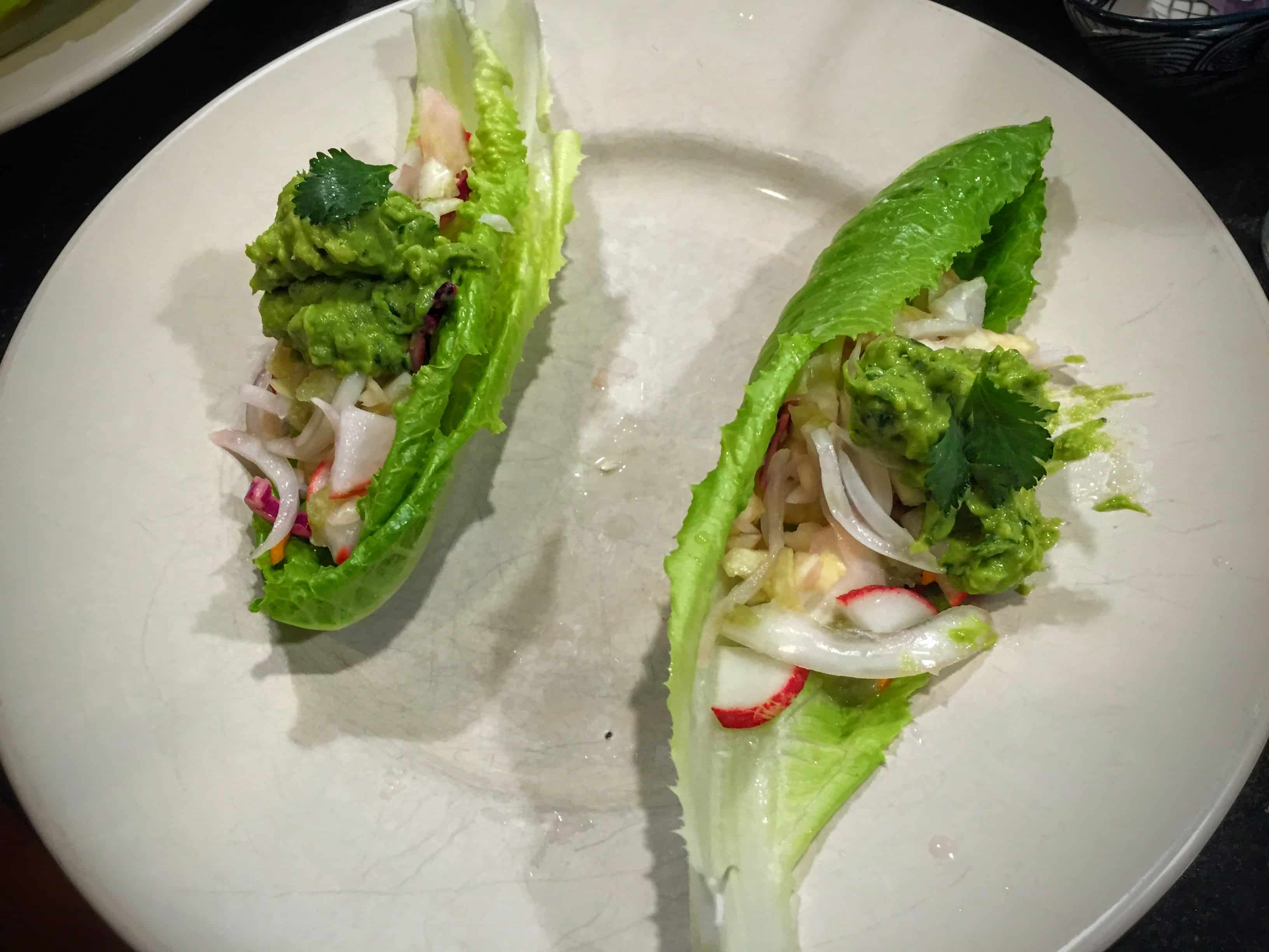 paleo_lettuce_wrapped_cod_fish_tacos_with_cumin_gucamole_and_radish_slaw_from_mypaleos_healthy_no_meat_lime_juice