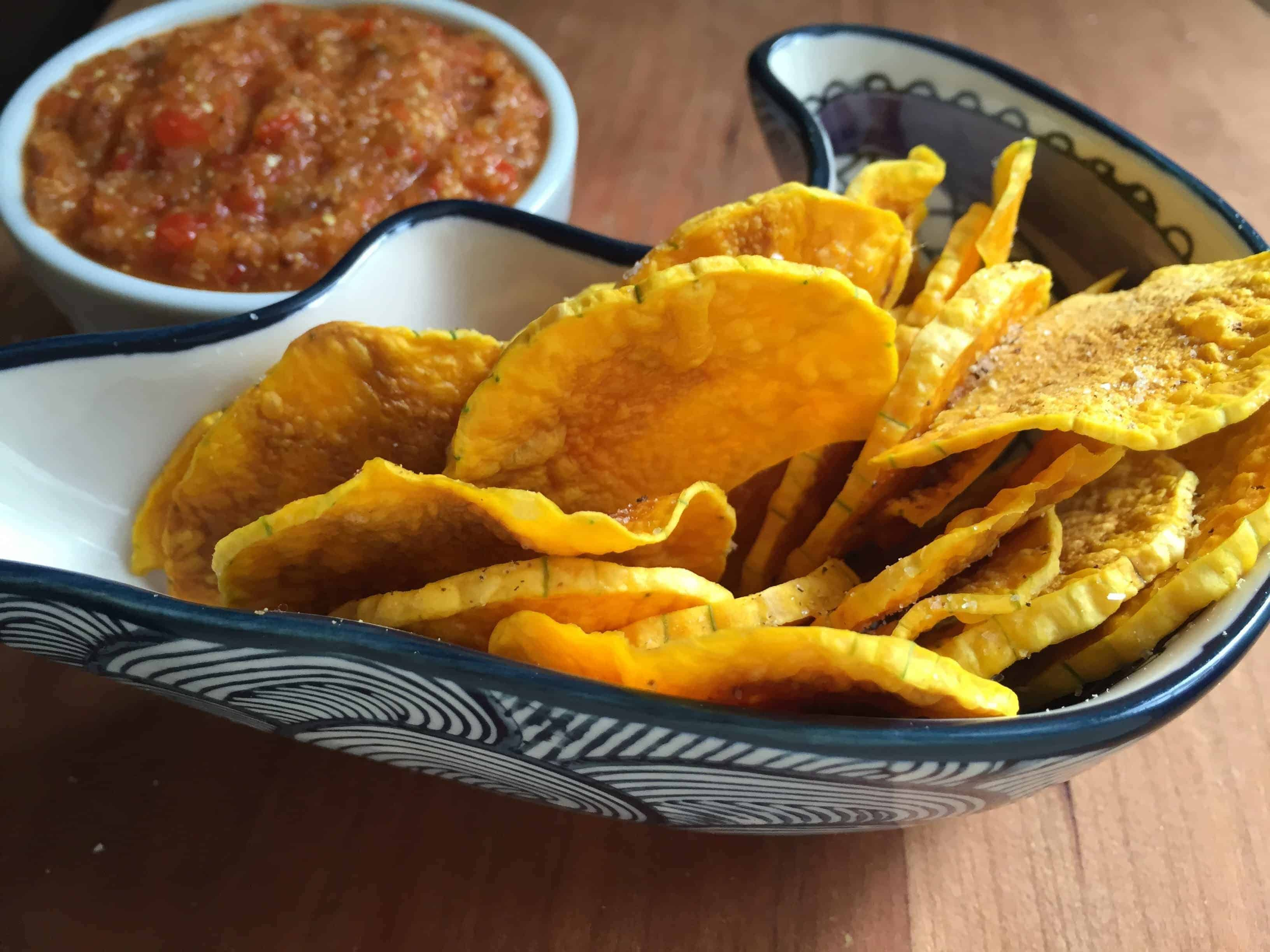 healthy_butternut_squash_chips_final_result_made_in_the_microwave_crunchy_sliced