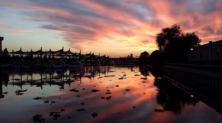 Photo of Stockton/Lodi area marina - this article covers Paleo delivery in Stockton, Lodi and surrounding areas in northern Calfifornia offering grain free, gluten free, organic, healthy, soy free, dairy free and sugar free meals