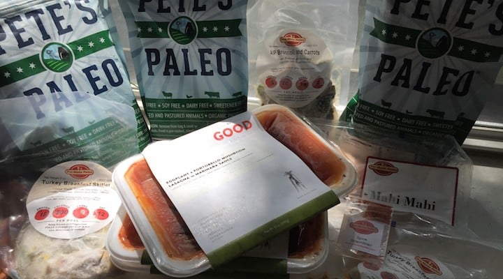 Photo of meals from several nationwide Paleo meal delivery services covered in this article. In this article we compare the Paleo home delivery services that deliver to addresses nationwide, highlighting different features of each company's offerings. These chef delivery services offer options like Whole30 meal delivery, AIP food delivery, Wahls Paleo meal delivery and Sugar Detox food delivery and specialize in Organic, grain free, gluten free, refined sugar free, soy free, dairy free (except Ghee and butter), local, sustainable, grass fed, pastured and seasonal farm to table ingredients. If you are looking to order Paleo meals online, we hope this provides you a comprehensive resource on your available options. The majority of companies listed offer Paleo meals direct to your front door.