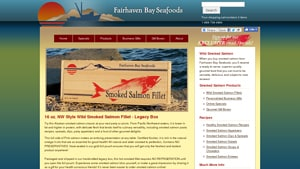We like to showcase firms like  Fairhaven Bay Seafoods  that offer Paleo eaters and others Nitrate Free Smoked Salmon Brands options. With their low salt smoked salmon products,  Fairhaven Bay Seafoods  is a good candidate for your short list. With many best mail order smoked salmon choices available from companies like  Fairhaven Bay Seafoods
