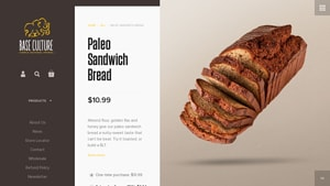 Screenshot of the Baseculture homepage - some Paleo Sandwich Bread Brands brands compared. These best paleo sandwich bread products from Baseculture and others should help end the search for healthy possibilities. With their paleo sandwich bread coconut flour products, Baseculture is a good candidate for your short list.