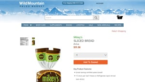 Screenshot of the Mikey's Muffins homepage - Whatever your dietary preferences, it's great to know about where to buy cassava bread brands. We like to showcase firms like Mikey's Muffins that offer Paleo eaters and others otto's cassava flour options. Mikey's Muffins specializes in wholesome foods like cassava flour muffins options.