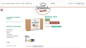 Screenshot of the Kz Clean Eating homepage - We cover many low carb gluten free bread mix options to give insight into your buying decision. With many gluten free cookie mix choices available from companies like Kz Clean Eating. If you are in the market for gluten and wheat free bread mix products, Kz Clean Eating is worth checking out.
